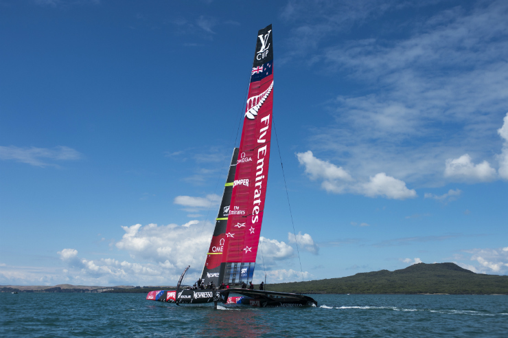Americas Cup Sailing Auckland