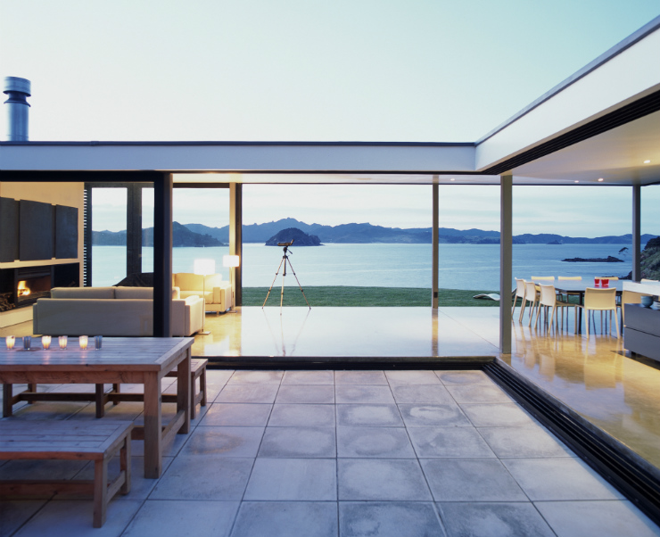 Oruawharo, luxury private accommodation, Great Barrier Island