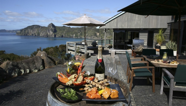 Taupo Bay Lodge platter