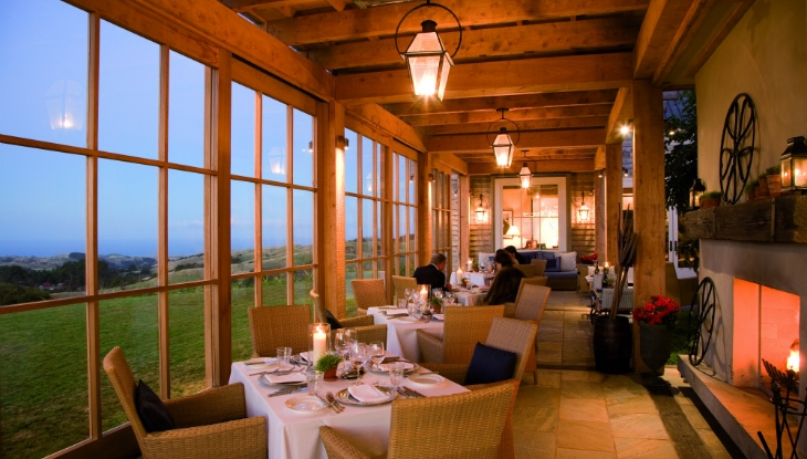 Cape Kidnappers Lodge, dining