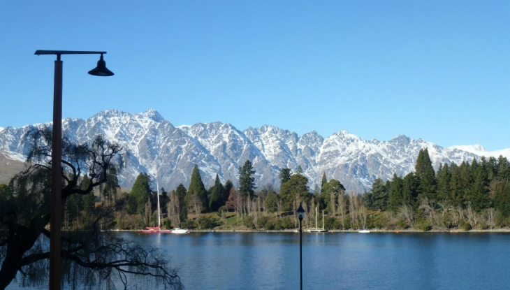 Eichardts Lakefront Apartments Queenstown, view