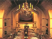 Winemaker's dinner at Huka Lodge