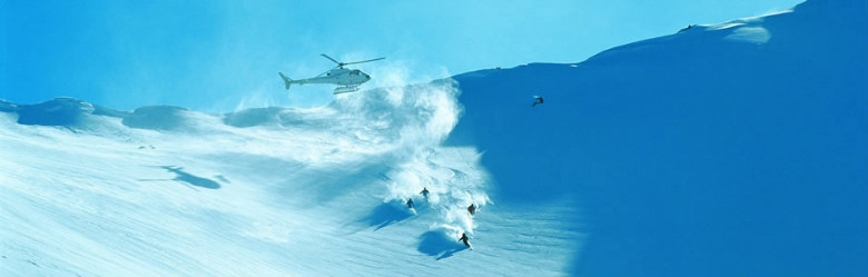 New Zealand heli skiing