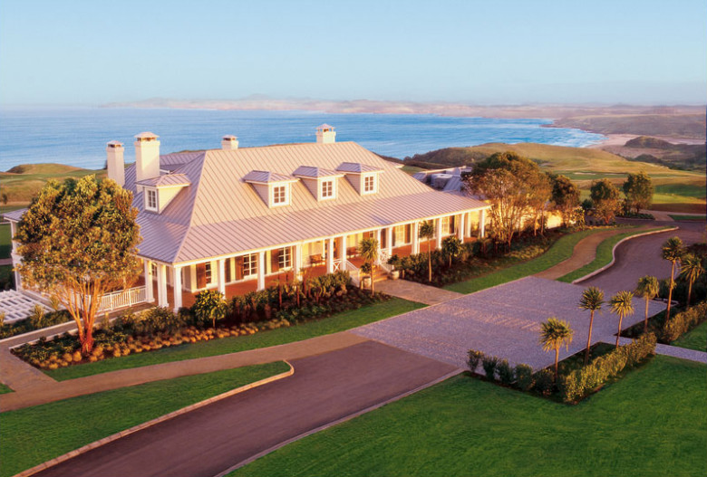 Kauri Cliffs Main Lodge