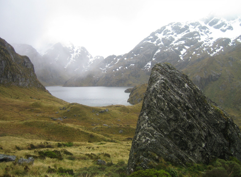 Lake Harris Routeburn Track, New Zealand