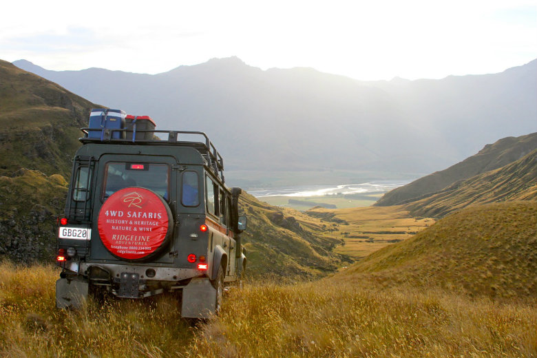 Land Rover Defender 110 on West Wanaka Station