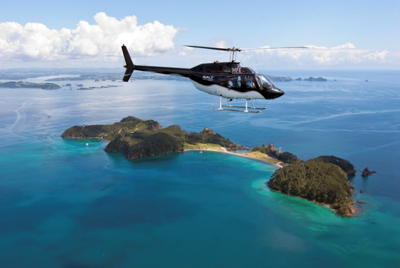 Roberton Island via helicopter - Salt Air, Bay of Islands
