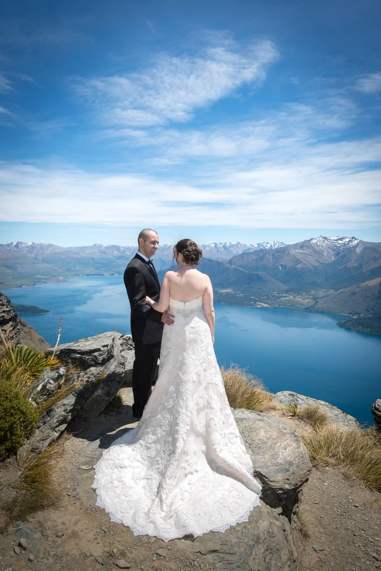 Frank and Aileen Wedding, New Zealand