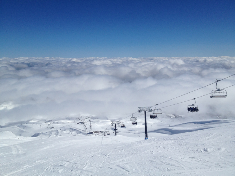 On a fine day skiing Ruapehu is a New Zealand experience not to be missed!