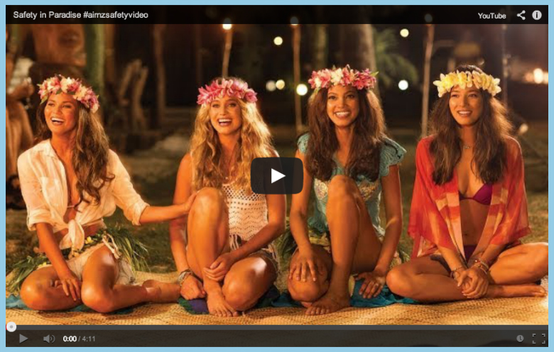 Air New Zealand Safety Video Aitutaki