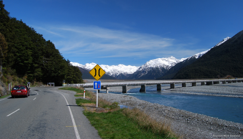 Self driving through the South Island