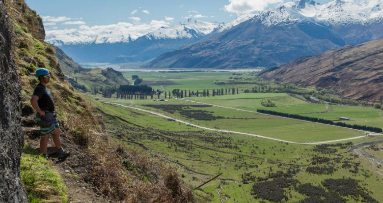 View over Wanaka - Wildwire