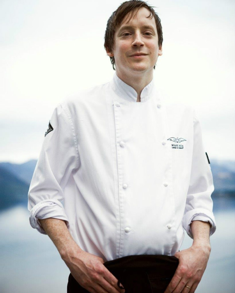 Executive chef James Stapley
