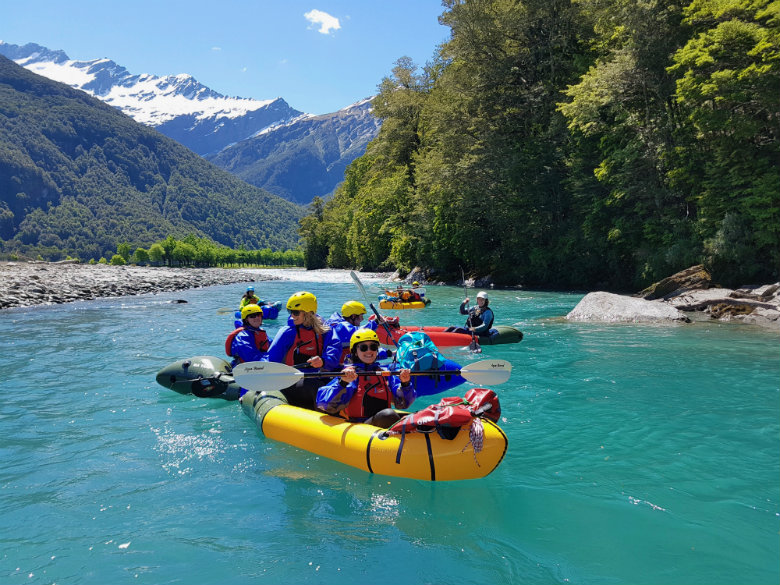 Packrafting in Wanaka