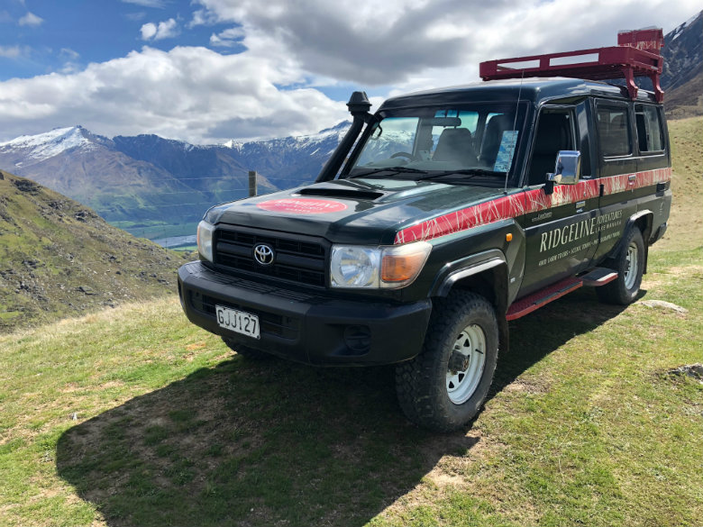 High country farm touring on luxury vacation in Wanaka, New Zealand