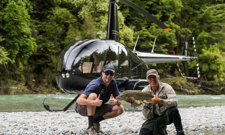 Heli Fishing Marlborough