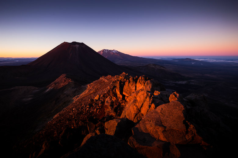 Sunrise at Tongariro