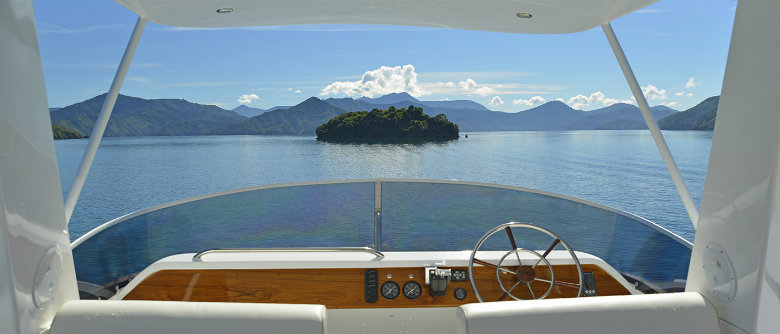 Luxury Cruise Marlborough Sounds
