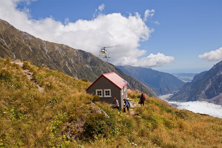 Chancellor hut, west coast, south island