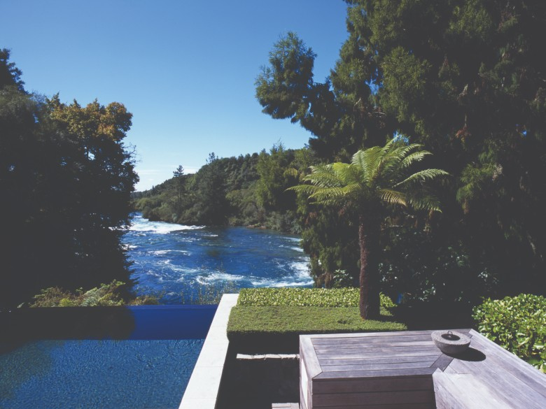Infinity Pool at Huka Lodge
