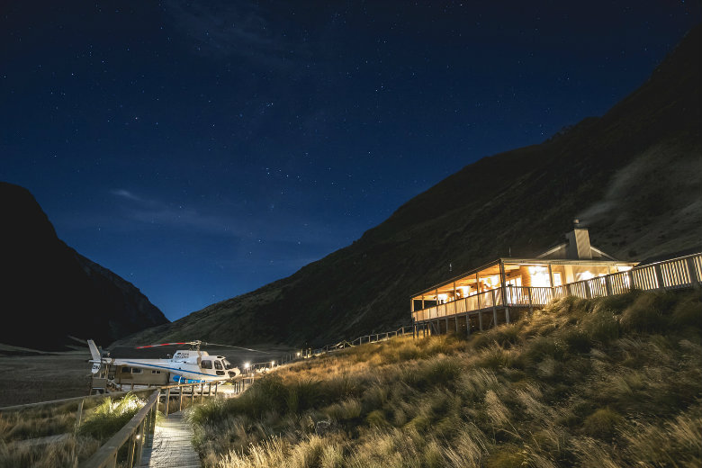 Minaret Station near Wanaka is a really unique place to stay in New Zealand. Offering luxury glamping style accommodation in a very remote location.