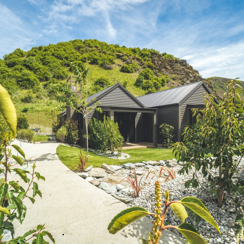 Privacy and space complement each other at Gibbston Valley Lodge and Spa.