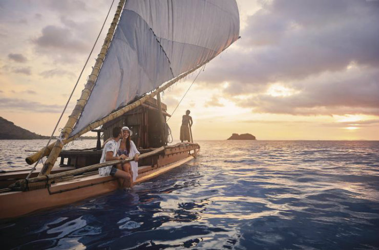 Sailing in Fiji