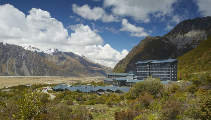 Hermitage Hotel, Canterbury, New Zealand
