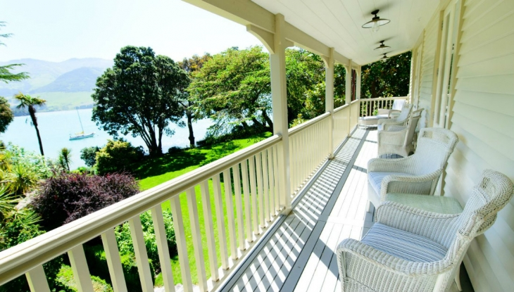 The Homestead, Annandale, balcony view