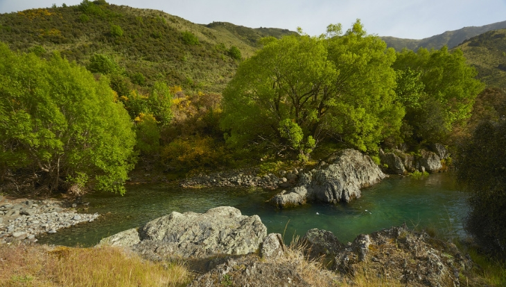 Spray Point Station, swimming hole