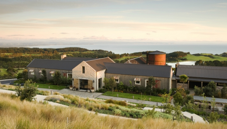 Cape Kidnappers, Hawkes Bay, main lodge