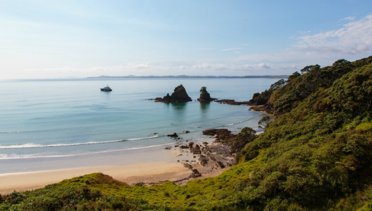 Kauri Cliffs Owners Cottage, beach nearby